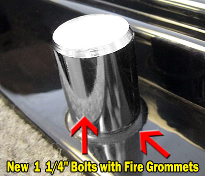 Safe Bolts with Fire Grommets