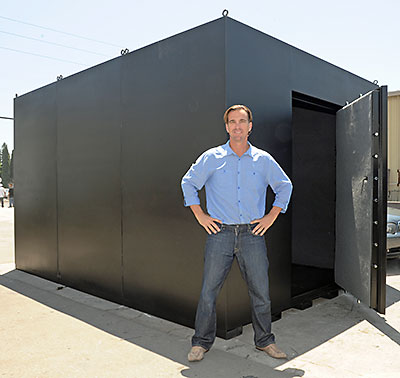 20x20 Room Used As A Safe