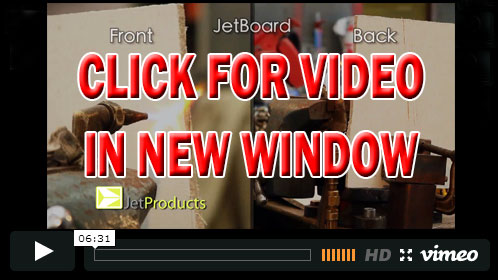 Jet Board Fire resistance video link
