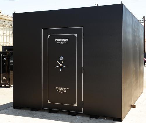 Gun safes vault doors vault room doors modular storm for Building a panic room inside your house