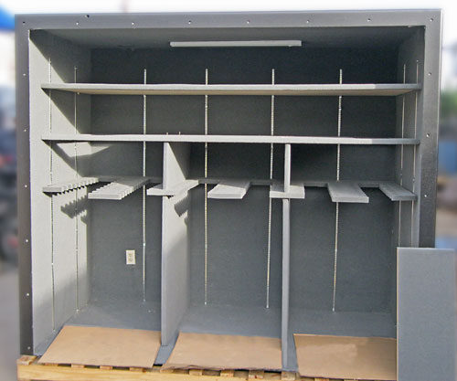 Storm shelters tornado shelters hurricane shelters for Custom panic room
