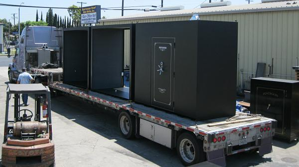 Storm shelter shipping home or office delivery