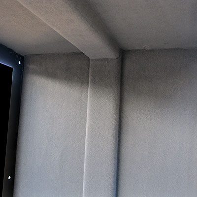 Vertical post ceiling support