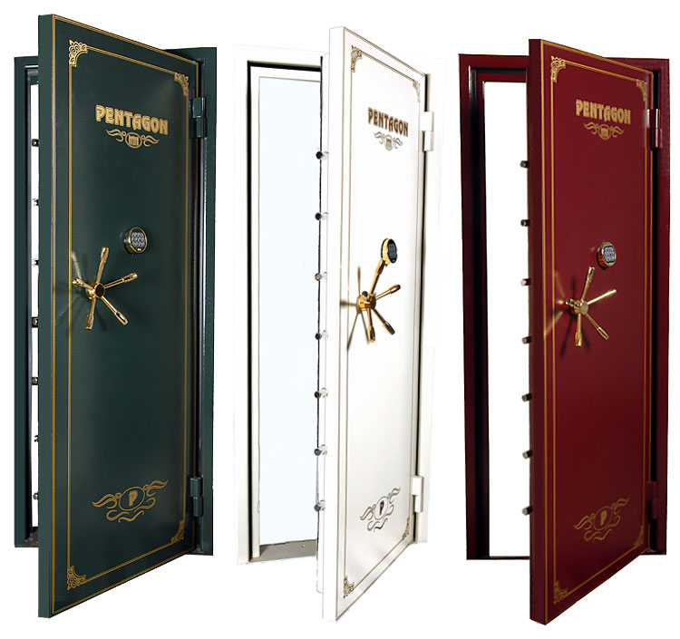 Pentagon Crown vault doors