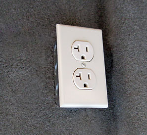 vault room electrical outlet