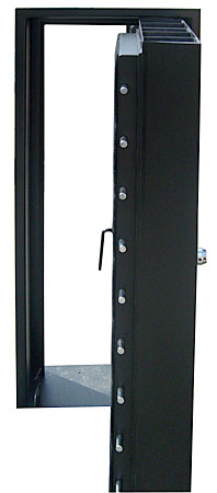 tankhead fire resistant blast door and door frame