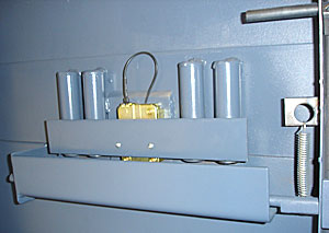 safe door relocking system, 4 barrel relockers